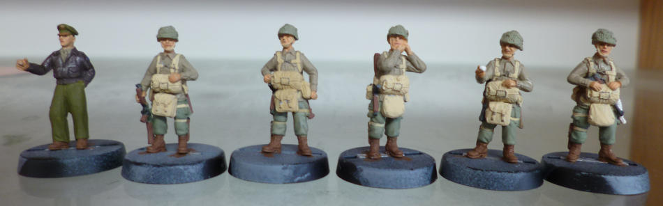 painted figures