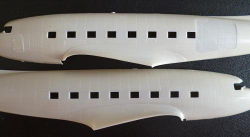 fuselage halves