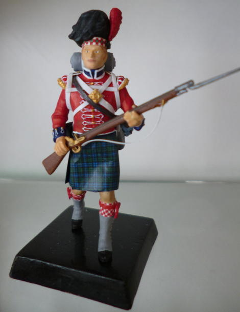 Picture of the finished Highlander
