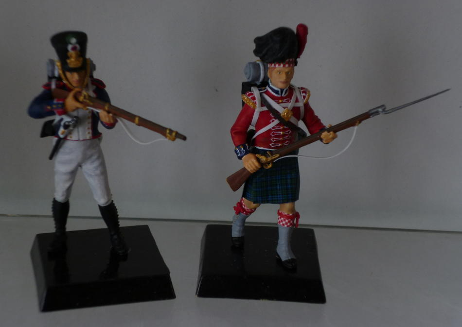 Picture of both finished models