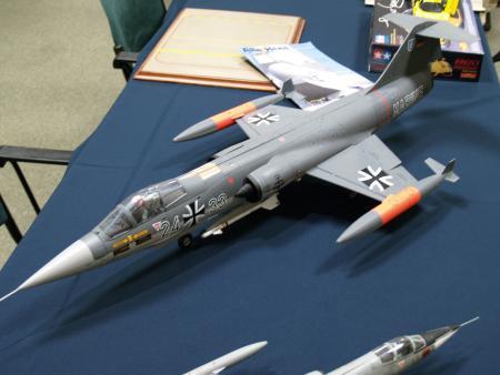 Die-cast Starfighter also belonging to Jaap Delis