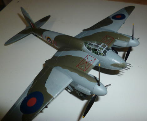 Picture of the finished model