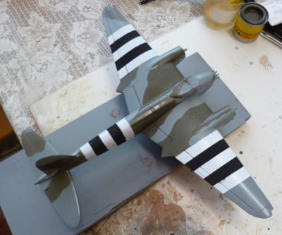 finished airplane