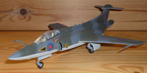 picture of the completed model