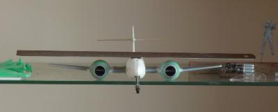 Twisted F8 fuselage