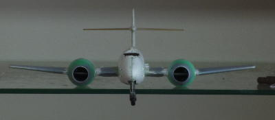 Straigthened F8 fuselage