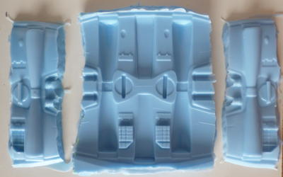 The mould for the wings