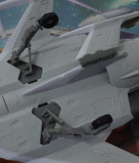 landing gear and fin fold