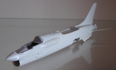 Picture of the assembled fuselage